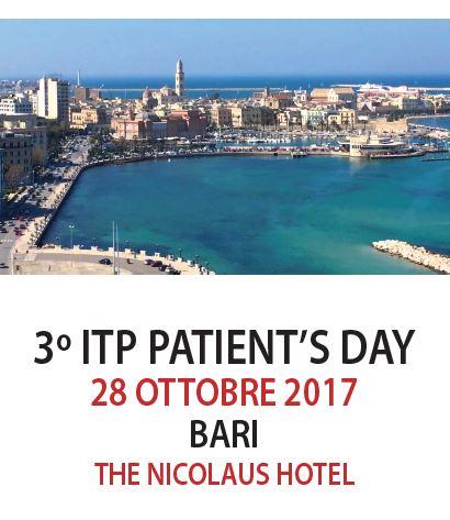 3° ITP Patient's day a Bari